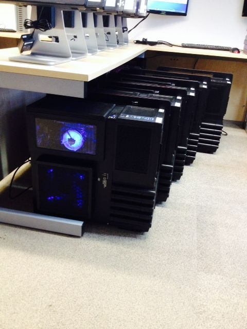 Our bespoke desktop towers for one of our biggest customers!