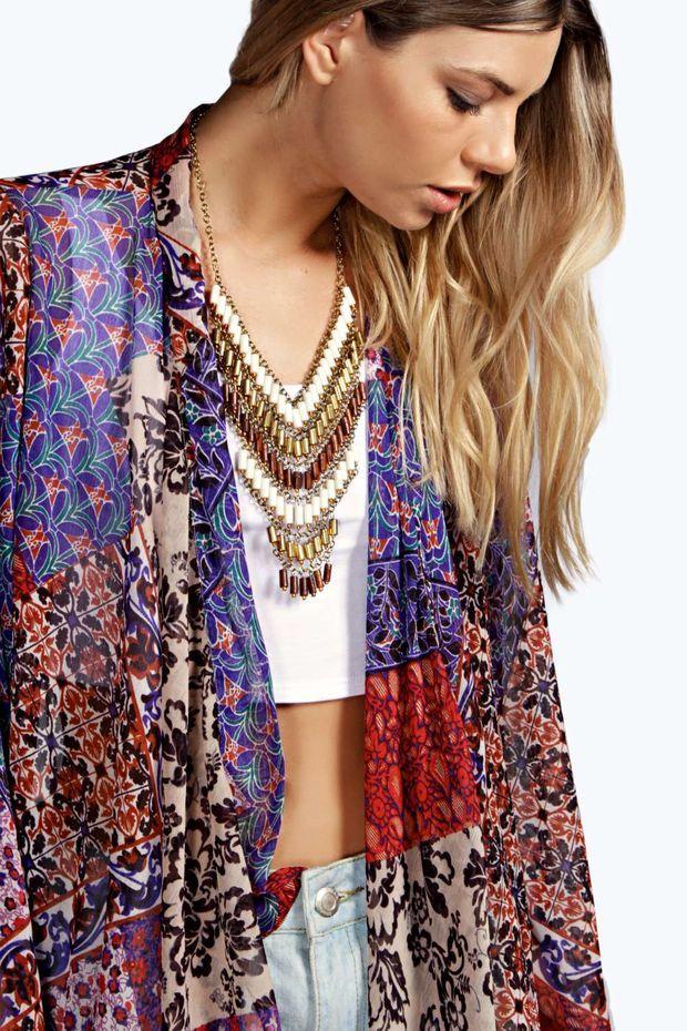 Isobel Printed Kimono