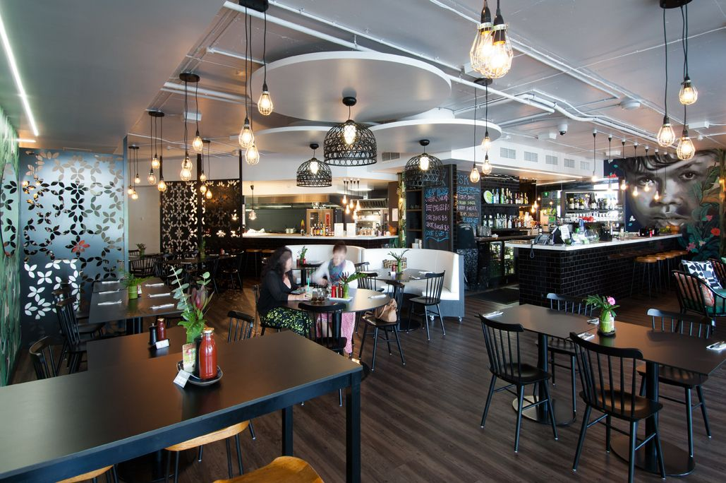Peel St Kitchen Bar Restaurant Fitout South Brisbane Australia Designed By Ellivo Architects Www Ell Kitchen Pictures Australian Design Kitchen Bar