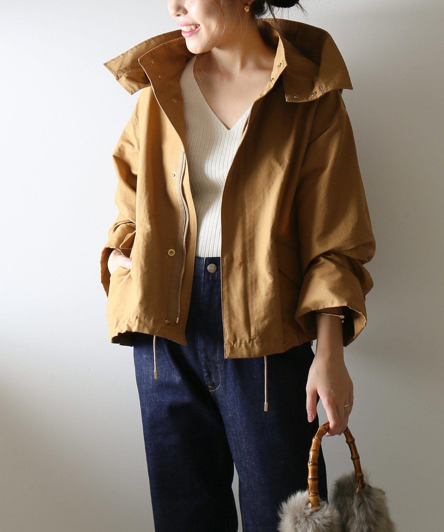 グログランフーディーブルゾン spick and span スピック スパン 公式のファッション通販 18011200801030 baycrew s store ファッション 春 ブルゾン ファッション通販
