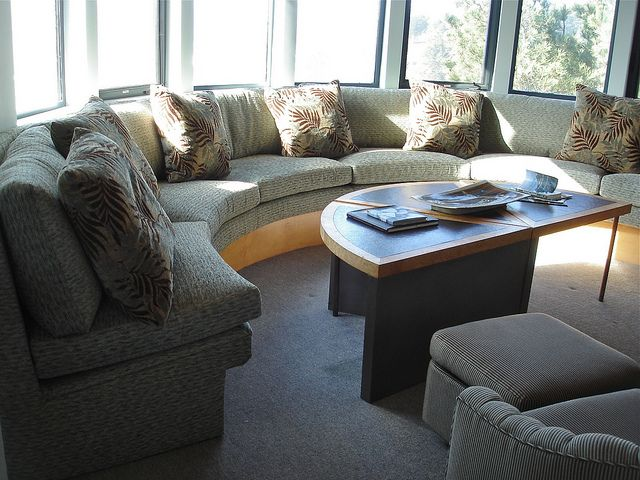 Curved Window Seating Home Decor Bedroom Round Couch Built In Couch