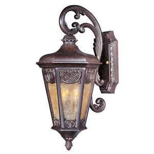 Maxim M40173NSCU Lexington Entrance Outdoor Wall Light - Colonial Umber