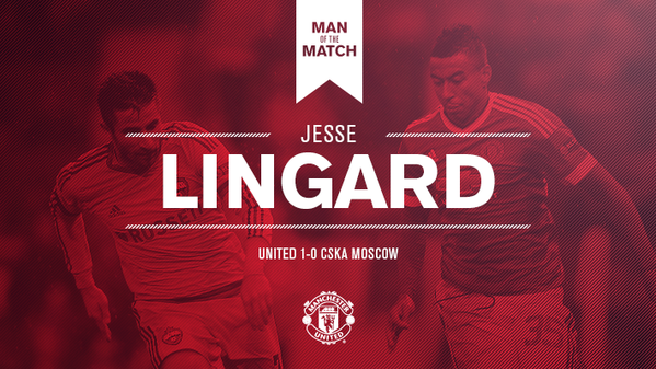 Congratulations To Jesse Lingard