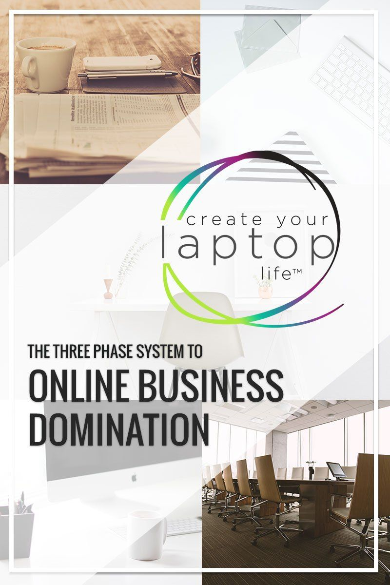 The Three Phase System to Online Business Domination | Online ...