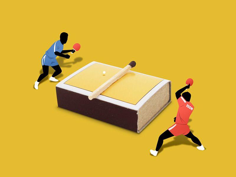 Table Tennis Table Tennis Tennis Posters Tennis