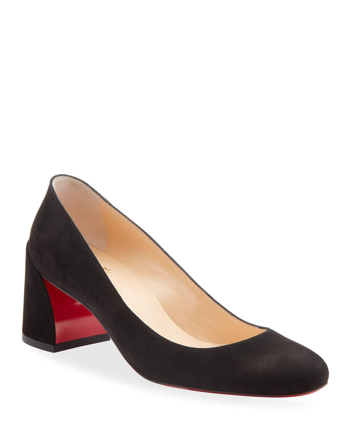 Miss Sab Suede Red Sole Pumps Christian Louboutin Red Bottoms Christian Louboutin Louboutin
