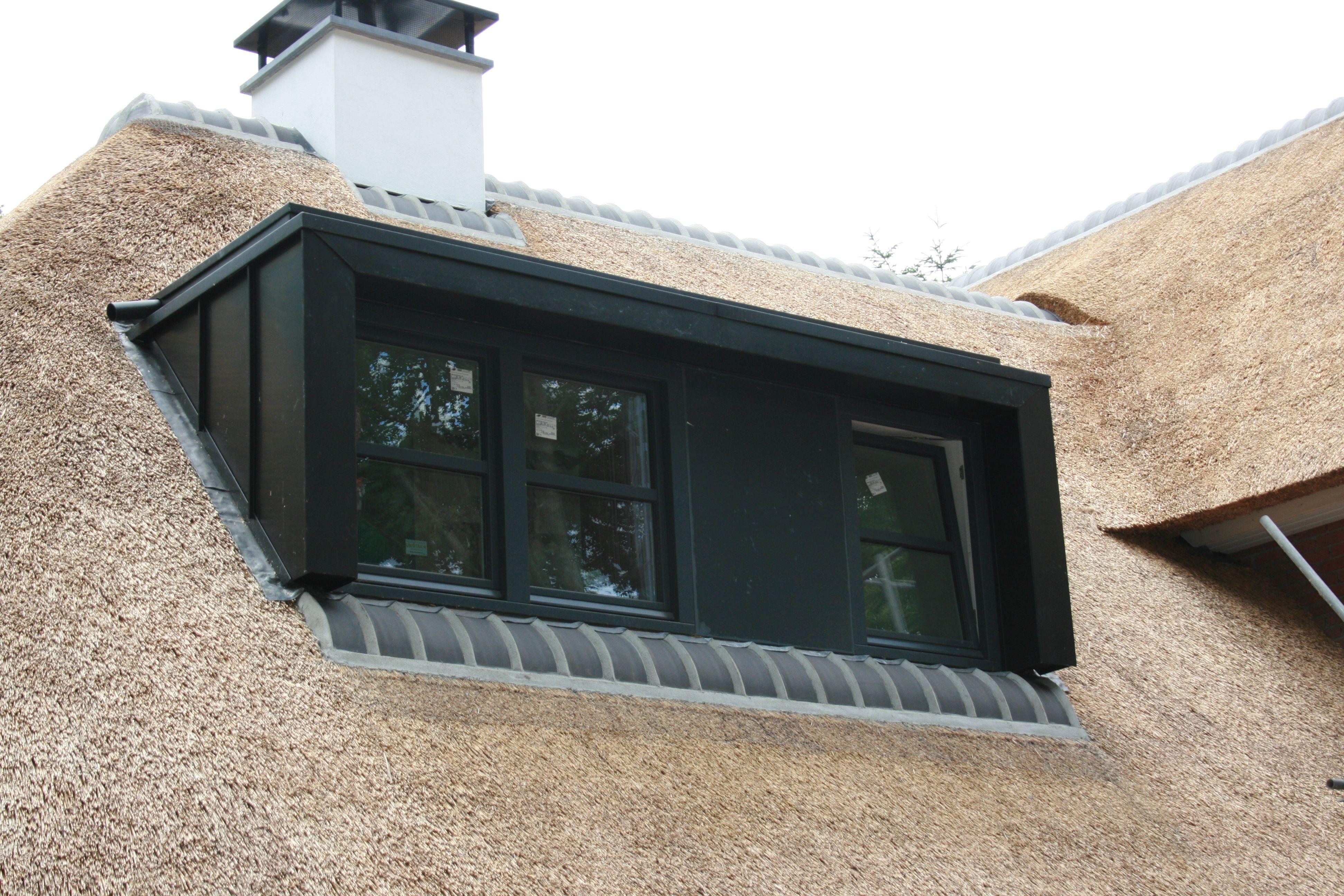 dakkapel met inbouw rolluiken rolluik zonwering type