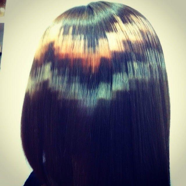 Hair That Looks Like Pixel Art Xpresionpixel New Hair Color Trends Hair Color Trends Hair Trends