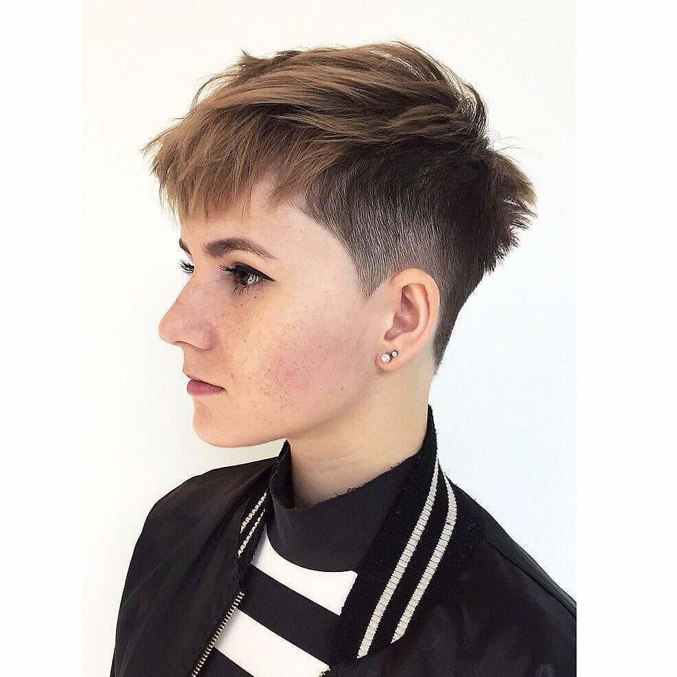 Best short haircut for women conceptions mignonnes courtes de