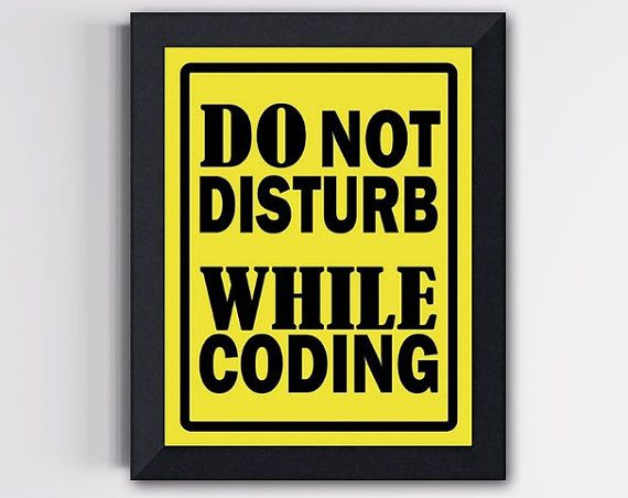 Awesome Disturbing Wall Art Programming Humor