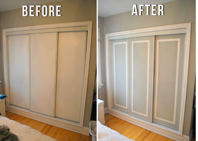 Facelift Those Ugly Sliding Doors The Crafty Frugalista For The