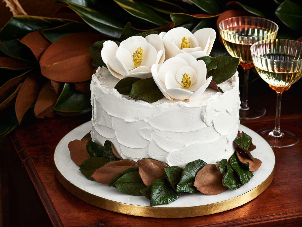 Magnolia Flower Cake Toppers Recipe Flower Cake Toppers Magnolia Cake Cake