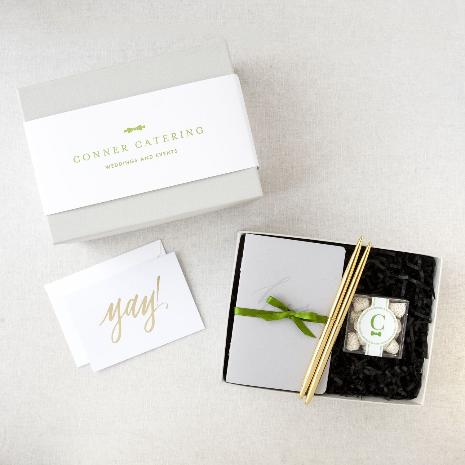 Branded Client Onboarding Gifts Designed By Foxblossom Co