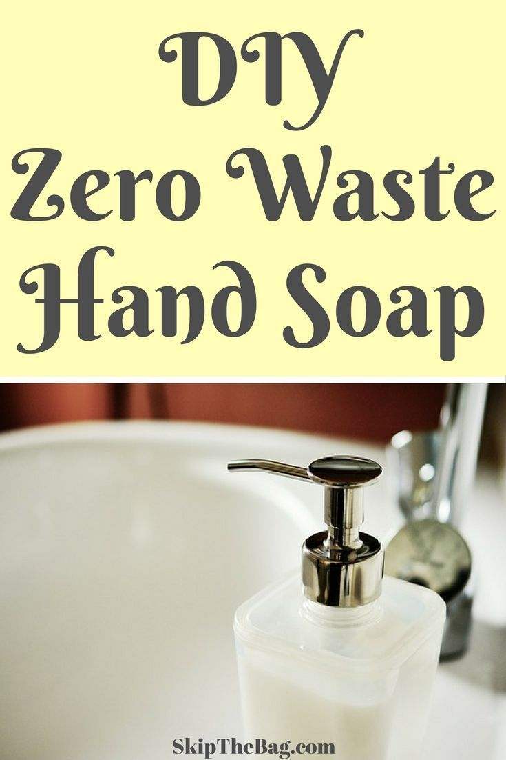 Soap with your own hands