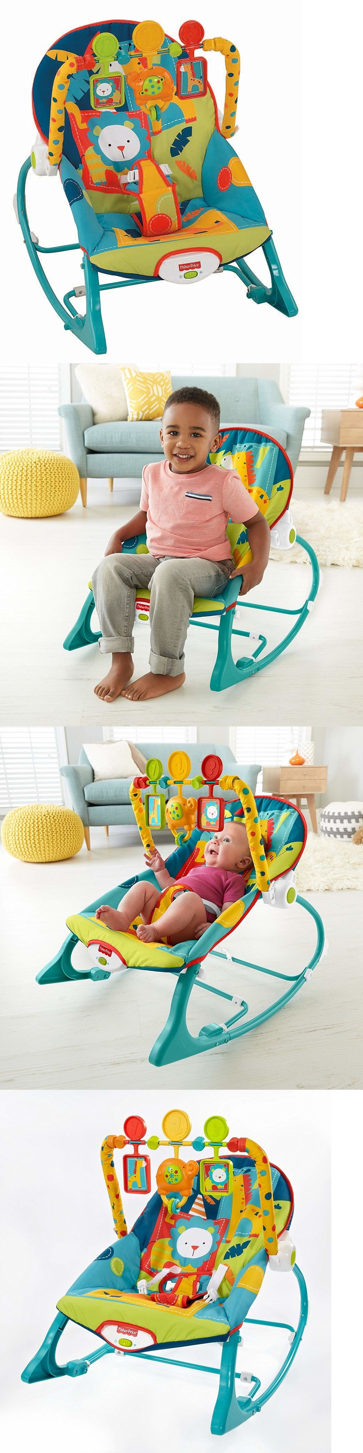 Infant Bouncy Chair Small Drop Leaf Table And Chairs Bouncers Vibrating 117034 Baby Rocking Toddler Removable Toys Plays Music Vibrates Buy It Now Only 33 92 On Ebay
