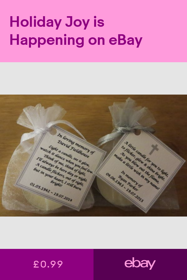 STILLBORN BEREAVEMENT FUNERAL CANDLES BABY LOSS REMEMBRANCE CANDLES