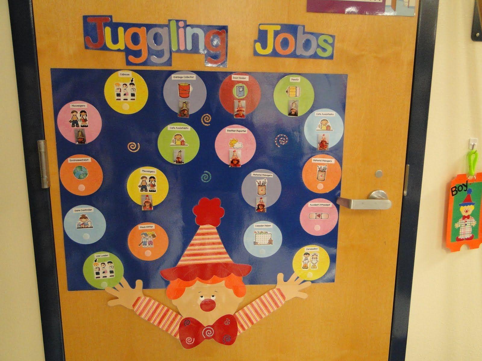 Junior Classroom Ideas ~ Class jobs display education pinterest