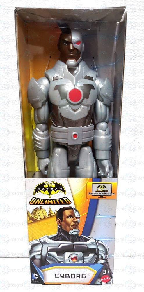 Batman Unlimited 12in action figure CYBORG mattel 2015