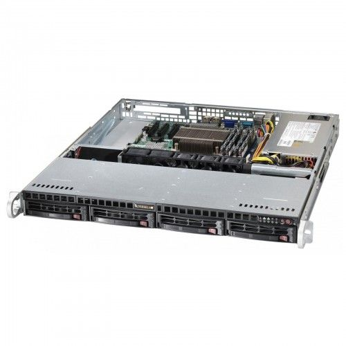 Supermicro Medium Business Rack Mounted Server 1 To 50 Users Digiworks Atx Computer Case Power Supply