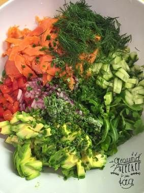 Summer Salsa Salad. #dahabenwirdensalat #gesundundleckerfürjedentag