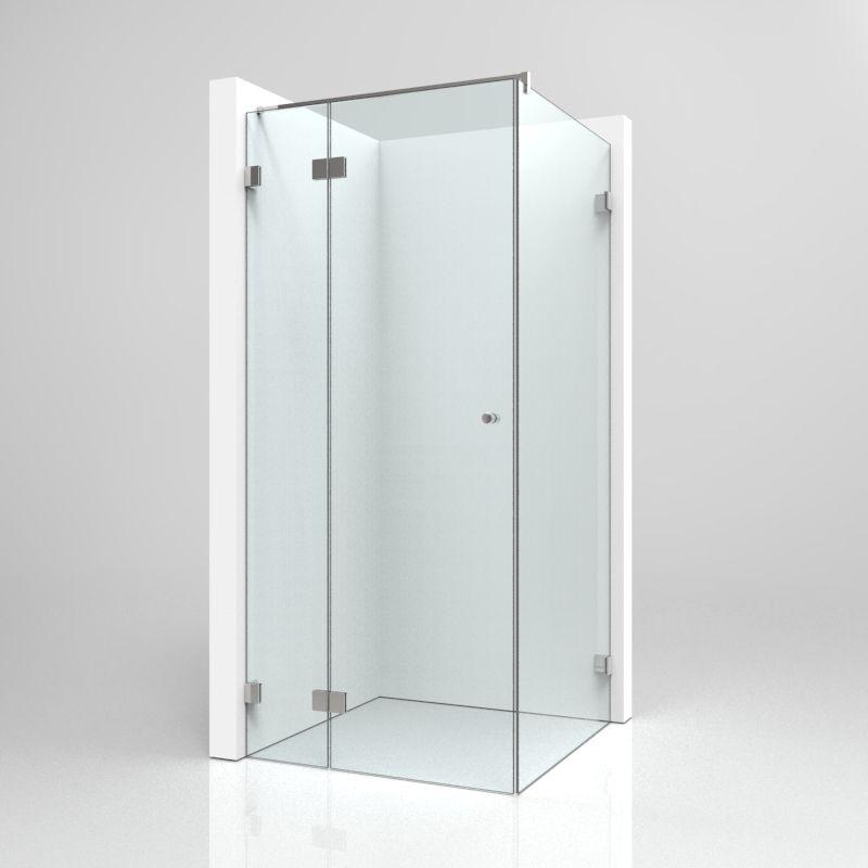 Eckdusche BE210 Eckduschen, Dusche, Duschkabine eckeinstieg