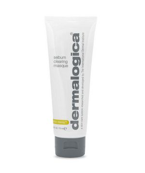 From Real Simple:  Best for Acne-Prone Skin - Use Dermalogica's Sebum Clearing Masque three times a week to cleanse your skin and prevent future breakouts. Kaolin and bentonite clays absorb excess oil, while salicylic acid exfoliates clogged pores.