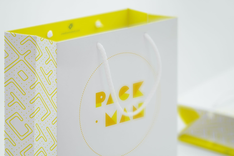 Download Shopping Bag Mockup 09 Bag Mockup Template Design Mockup