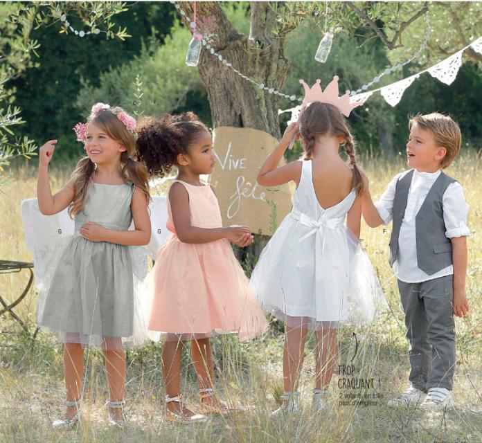 tenues de mariage pour les enfants se mettre sur son 31