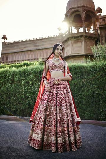 a070679568de Exclusive heavy designer beautiful bridal red color lehenga choli stylizone  manishmalhotra weddinglehenga fashionblogger bridalshower also rh