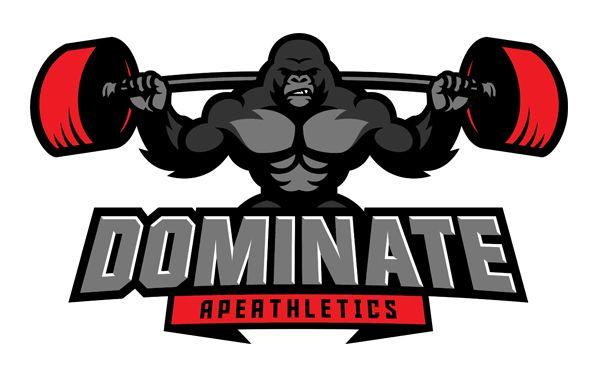 Https Www Behance Net Gallery 35264801 Ape Athletics Gym Logo Fitness Logo Crossfit Logo