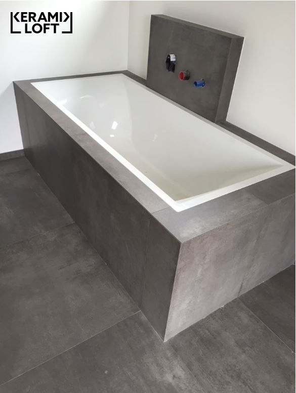 Fliesenboden und badewannenverkleidung mit fondovalle for Badezimmer design hannover