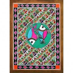Made by Harmony Arts Madhubani Painting (106)