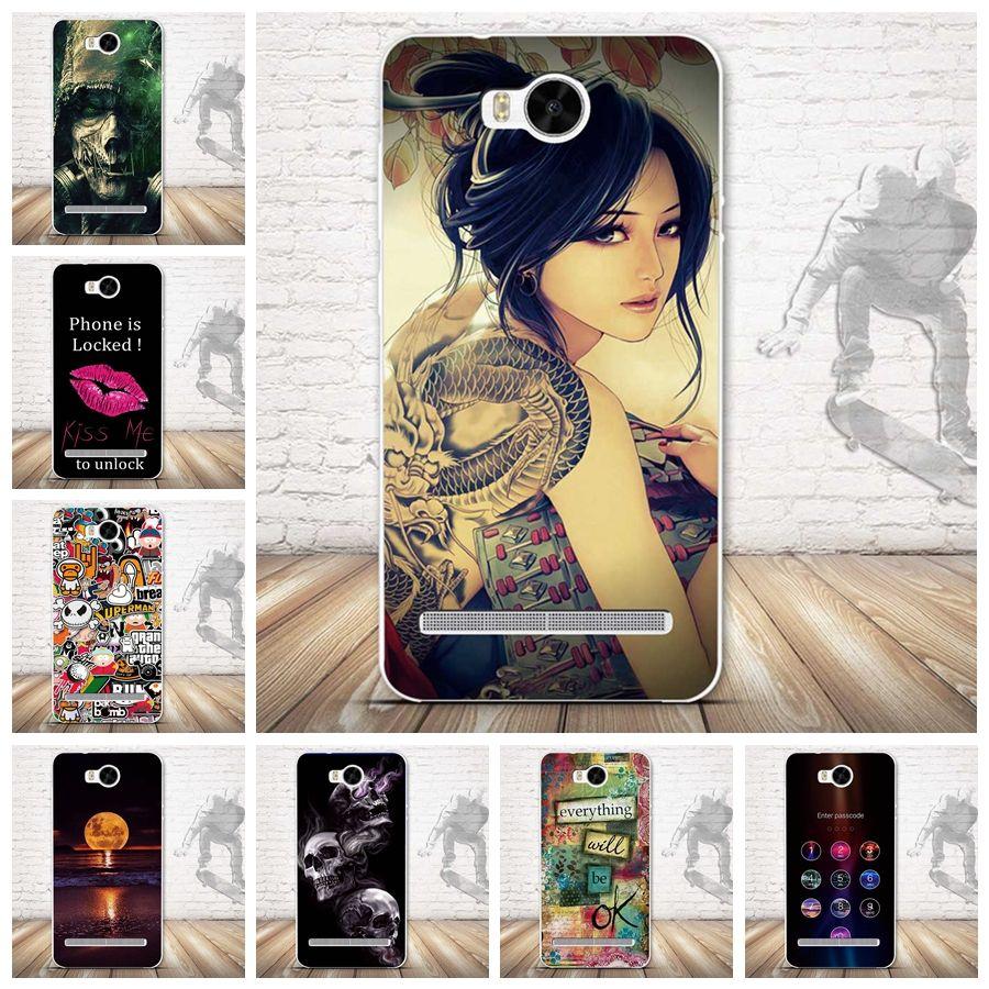 20 패턴 뜨거운 판매 부드러운 실리콘 패션 case 대한 huawei y3 ii case 3d 구호 그리기 huawei y3 2 case 커버 젤 스킨
