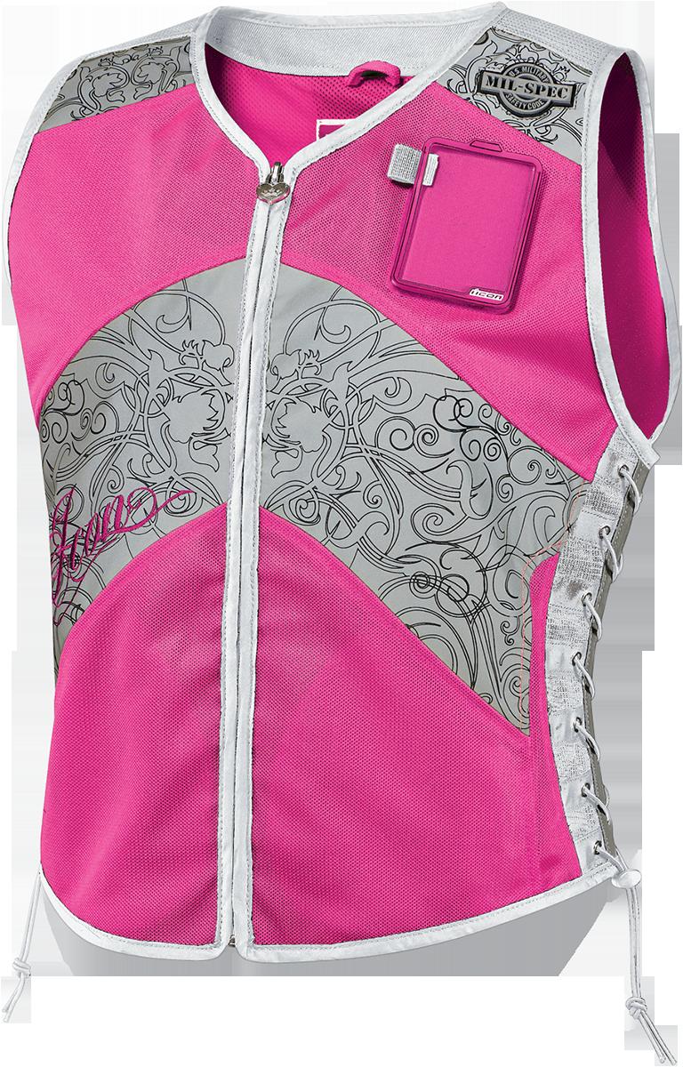 Milspec Corset Milspec Pink safety vest for
