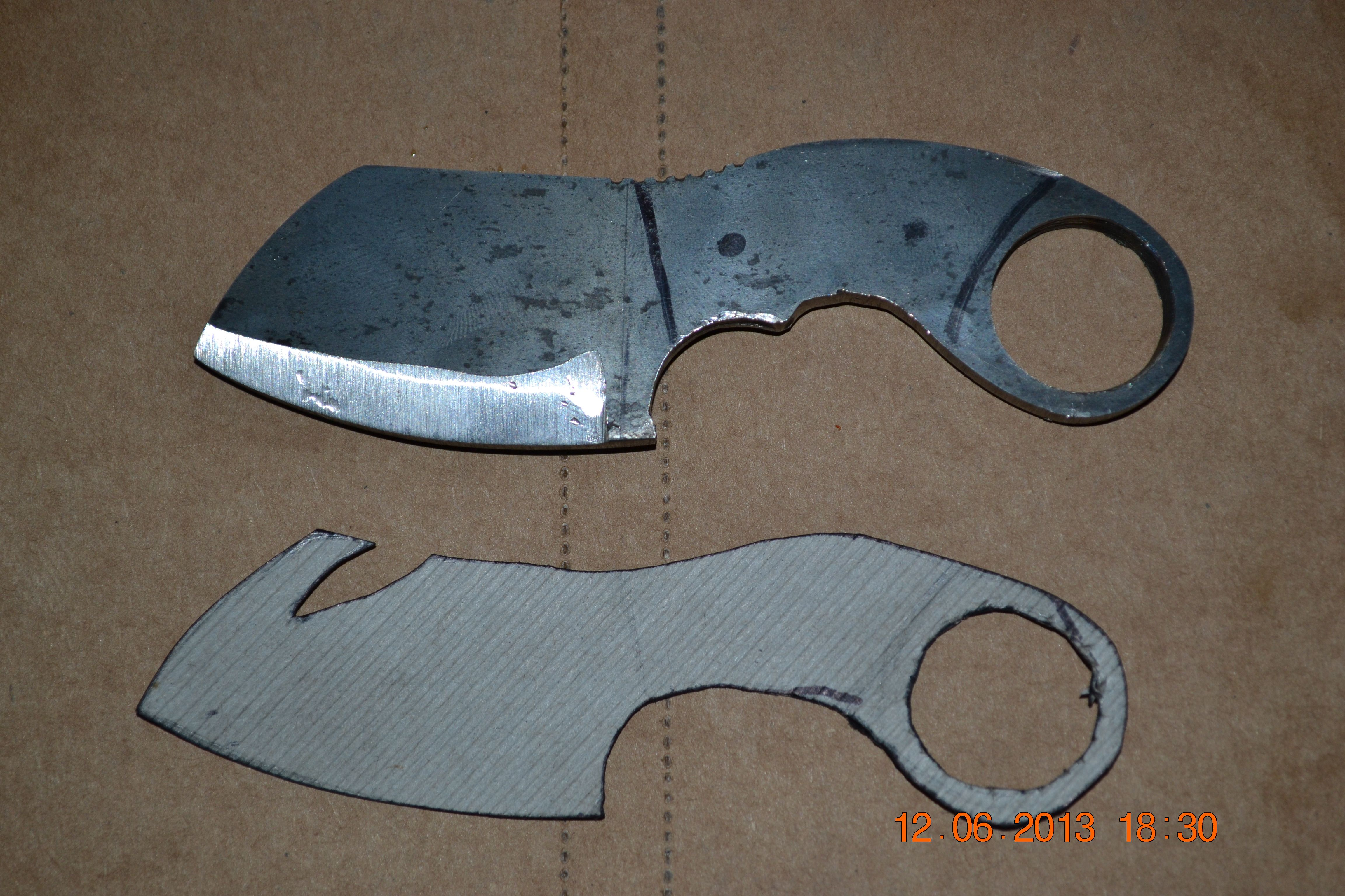Firt Knife Advice And Opinions Needed Beginners Place Knife Knife Template Knife Patterns