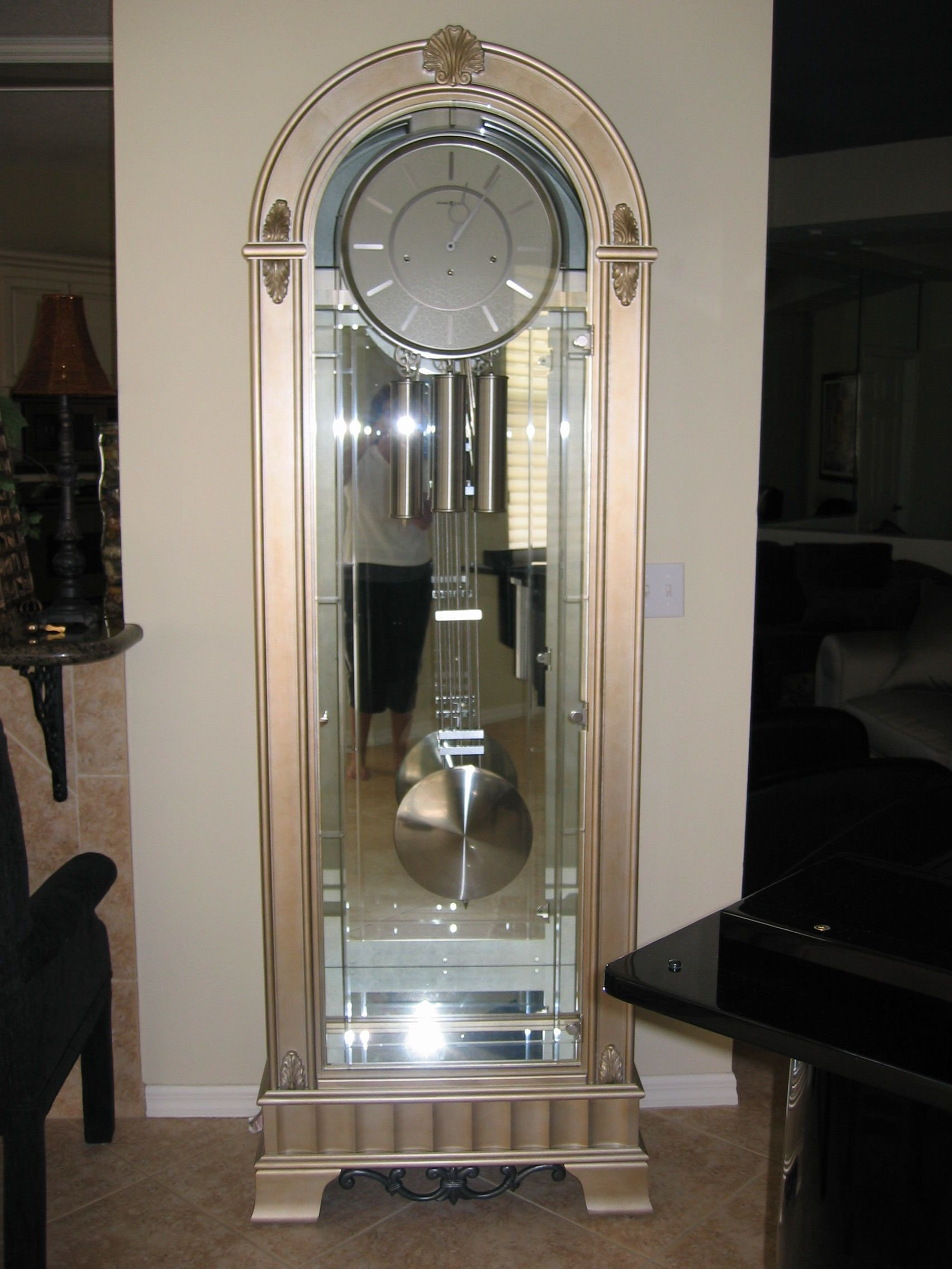 Howard Miller Coastal Point Grandfather Clock. So thrilled