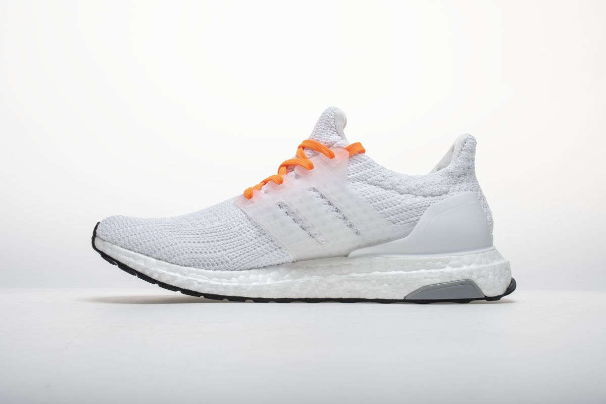 359d64140ea OFF WHITE X adidas Ultra Boost 4.0 All White Real Boost2