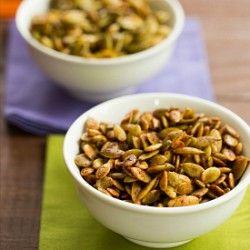 How to Roast Pumpkin Seeds | Toasted Pumpkin Seeds Recipe