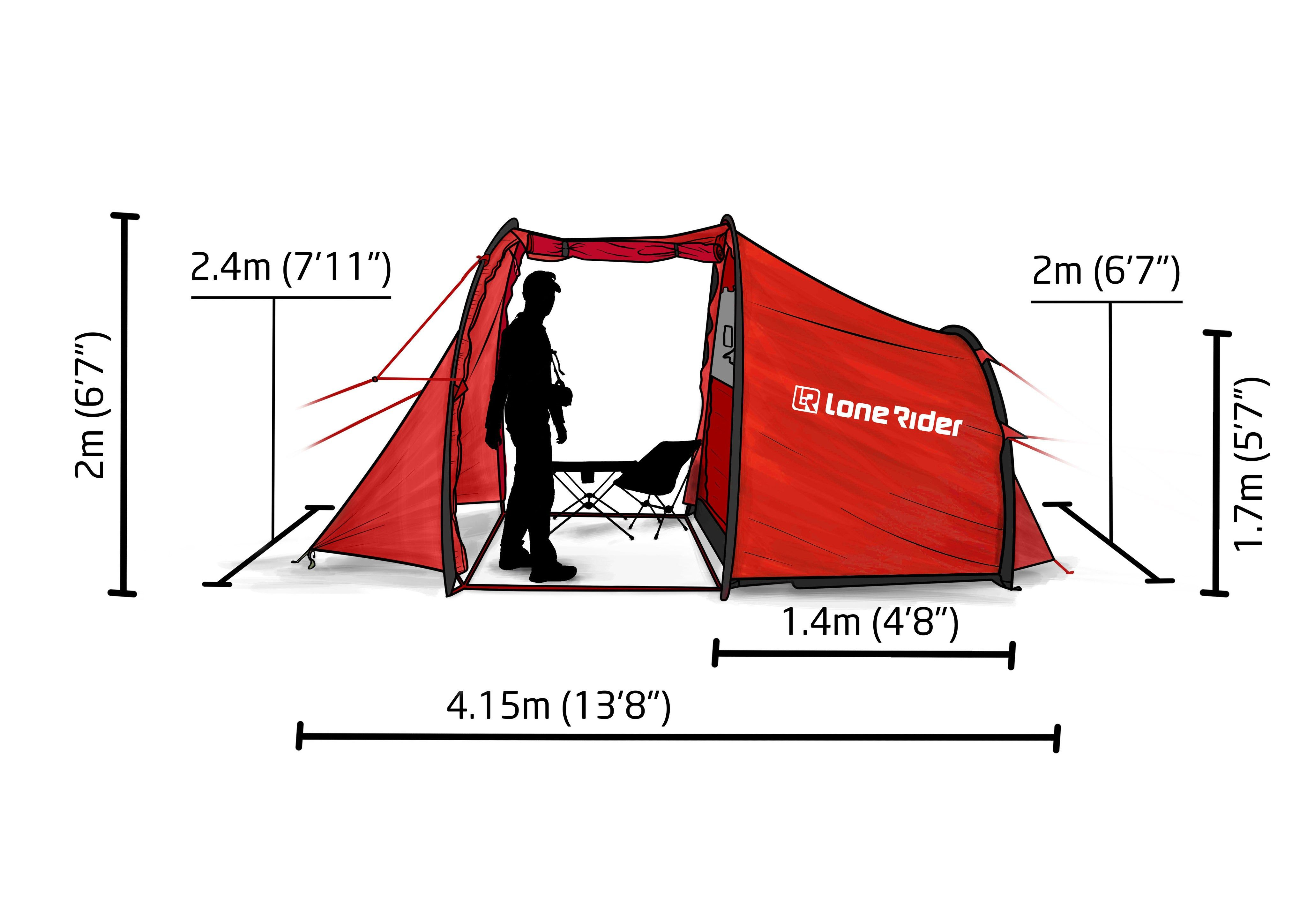 LONE RIDER The Motorcycle Tent MotoTent | Motocicleta | Pinterest | Tents  sc 1 st  Pinterest & LONE RIDER: The Motorcycle Tent MotoTent | Motocicleta | Pinterest ...