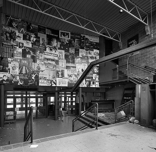 Film Noir, Abandoned Places, Noir