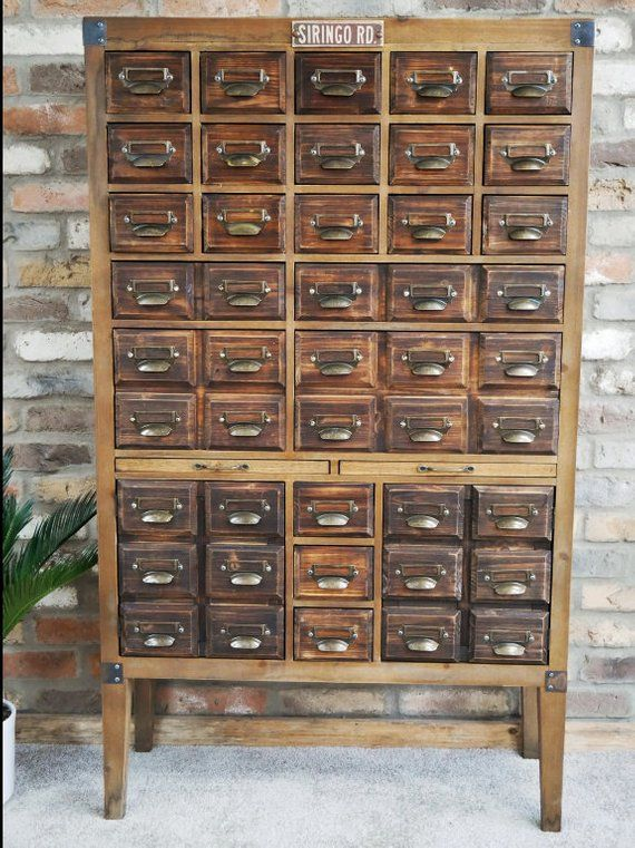 XL Apothecary Cabinet - Storage Cupboard - Large ...