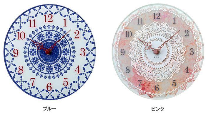 【壁掛け時計】Clemence(クレメンス)置き時計テーブルクロックアナログ時計贈答品W-626-BUW-626-PK