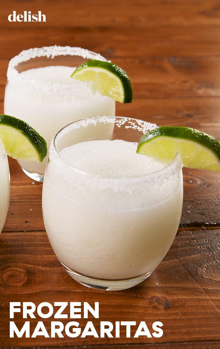 Frozen Margaritas #frozenmargaritarecipes
