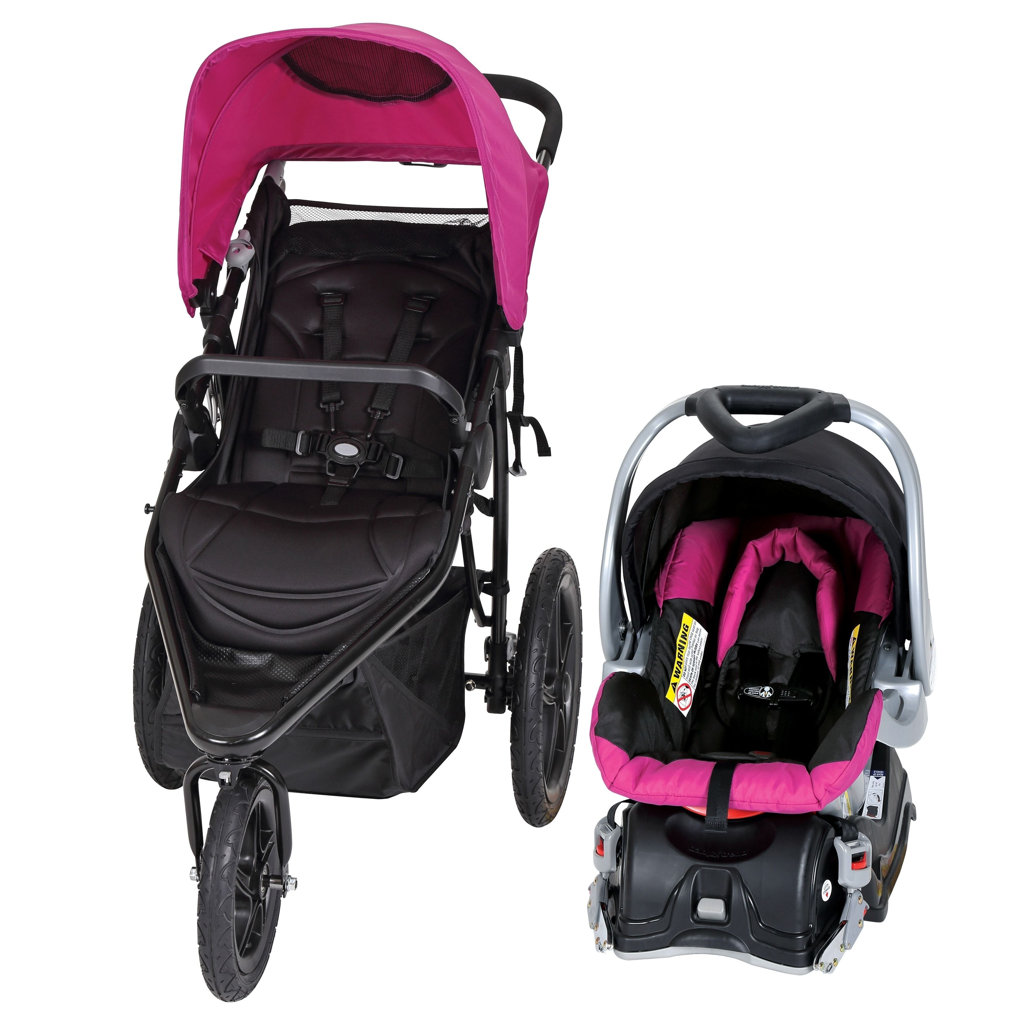 Baby Trend Stealth Jogger Travel System Viola
