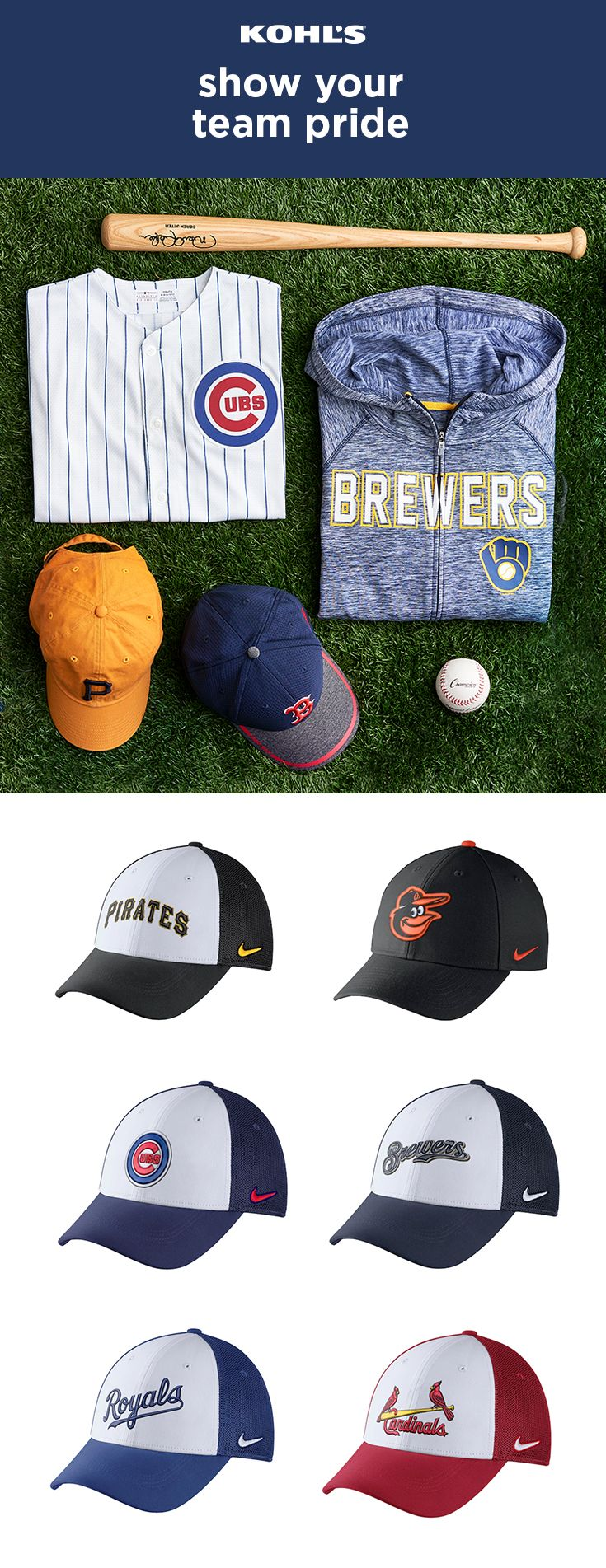 Rep Your Favorite Team For Opening Day And Beyond With Mlb Gear We Ve Got Officially Licensed Baseball Hats Jerseys And Hoodies For The Mlb Gear Homerun Mlb