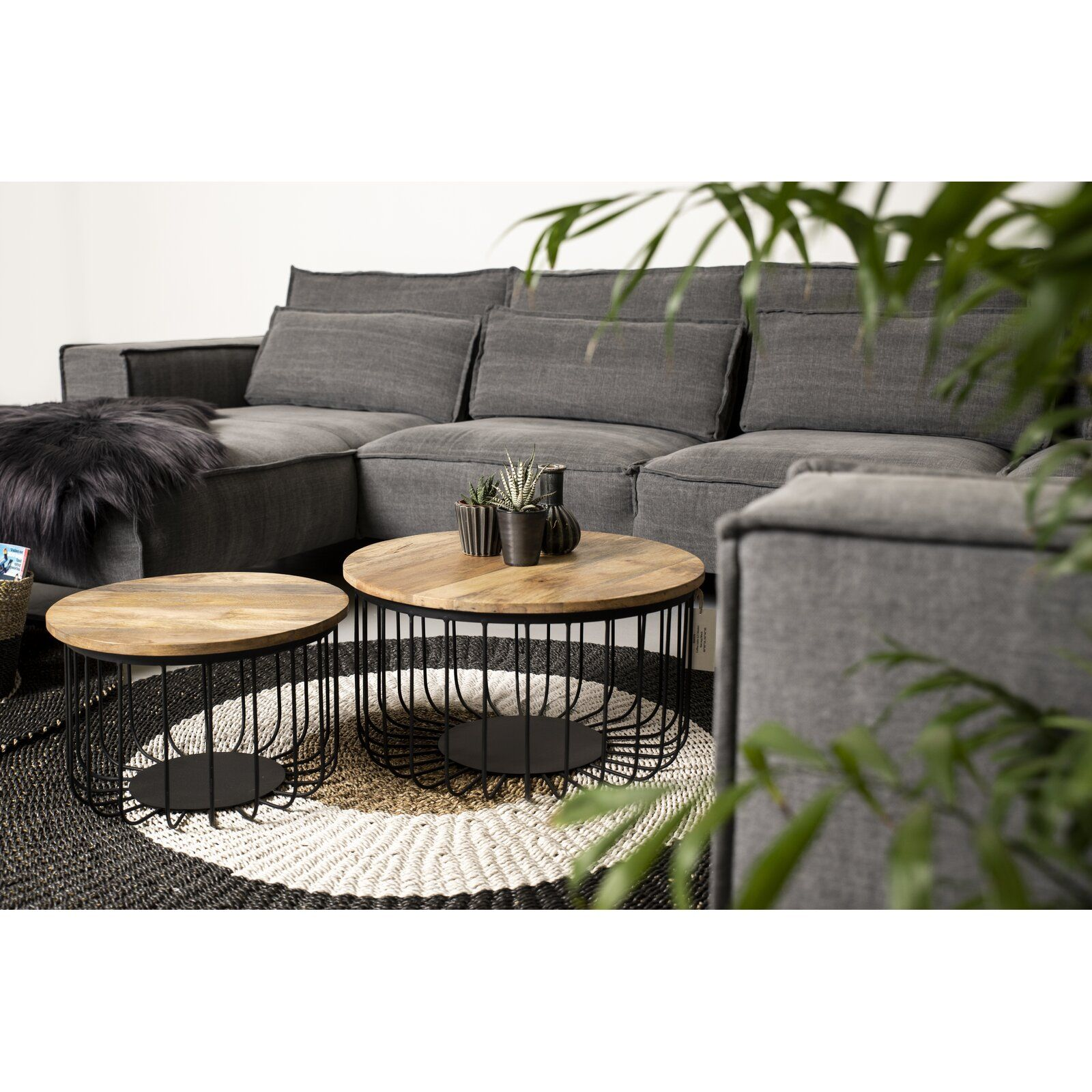 2 Tlg Couchtisch Set Howton In 2020 Farmhouse Furniture Living Furniture Furniture