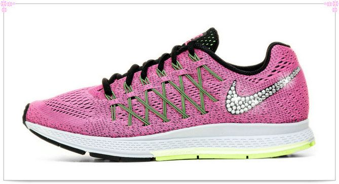 Over 70% Discount Off Popular 2017 Fashion glitter kicks Nike Air Zoom  Pegasus 32 Crystallized b27fd78fdd
