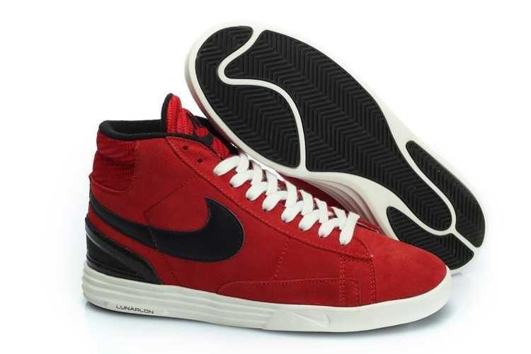 size 40 68758 1df24 köp nike blazer high suede vt svart röd skor dam försäljning  https  sportskorbilligt.se 1479 nike blazer high herr