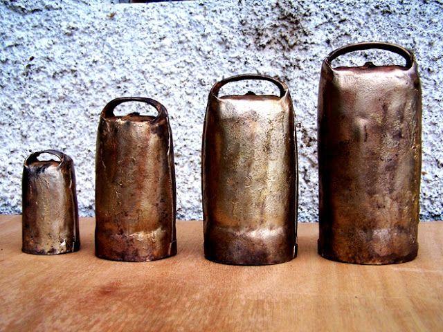 Antique Portuguese Cow Bells / Chocalhos Portugueses (Alcáçovas - Alentejo - Portugal) #1