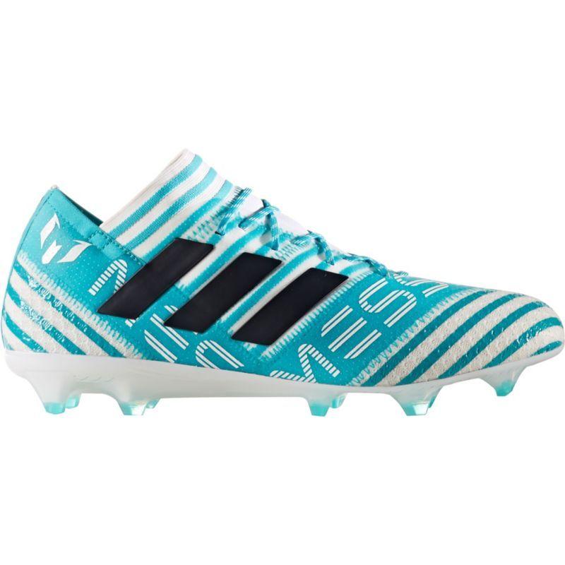 huge discount de06c b85e2 adidas Mens Nemeziz Messi 17.2 FG Soccer Cleats, White